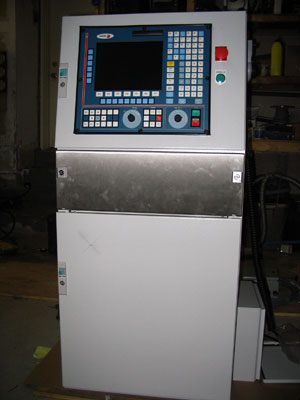 CNC controls for NEW machine Atomic Energy of Canada (AECL Chalk River Plant)